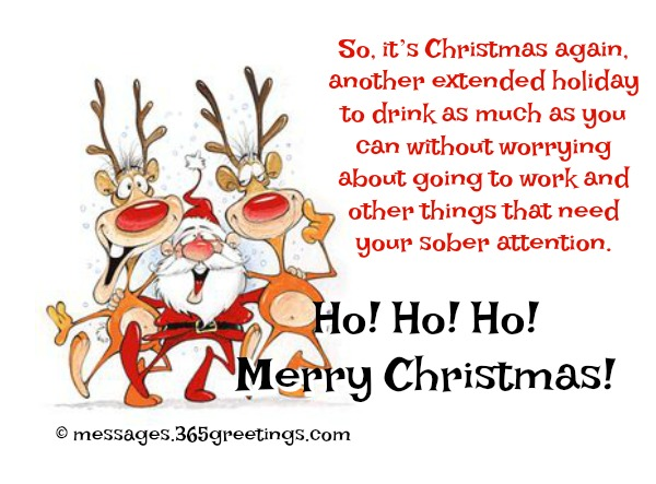 Merry Christmas Wishes Funny.Funny Christmas Wishes And Messages 365greetings Com