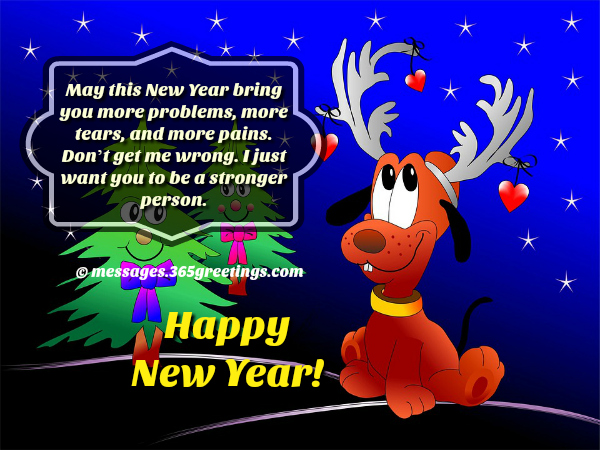 Funny New Year Messages For Cards, Funny New Year Messages For Friends