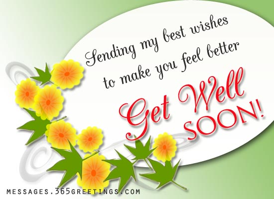 Elegant Show Your Support To Your Family And Friends By Expressing Your Heartiest Get  Well Wishes.