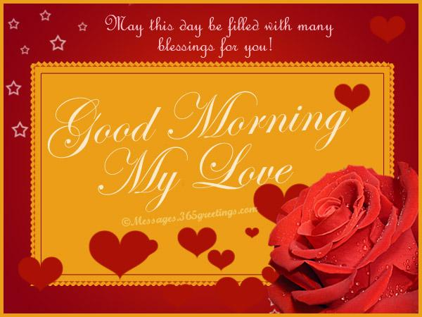 Love Quotes For My Love Captivating Romantic Good Morning Messages And Quotes  365Greetings