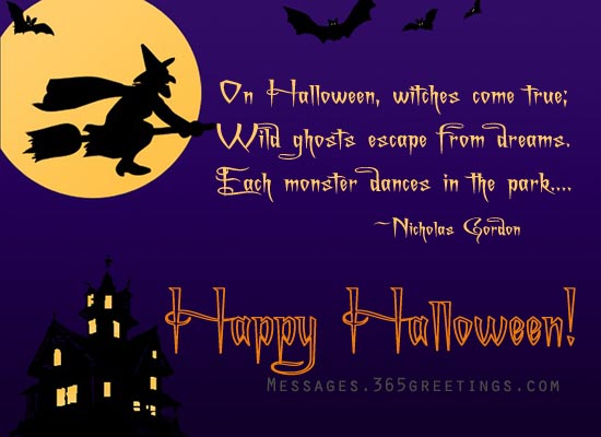 Superb Halloween Greetings