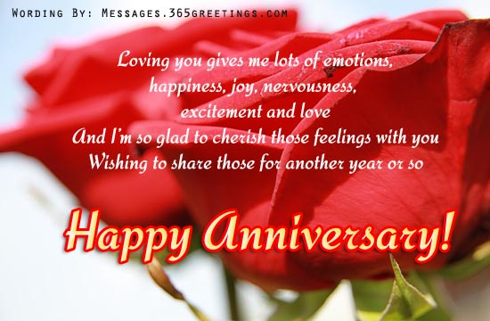 Anniversary Messages for Boyfriend - 365greetings com