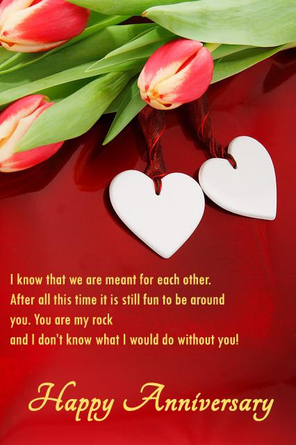 Romantic Anniversary Messages for Her