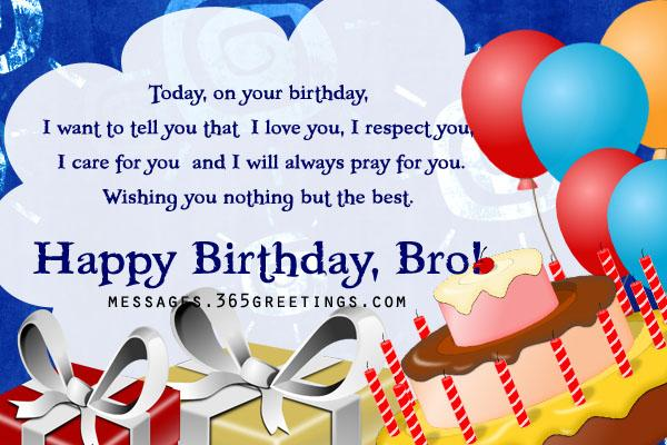Birthday wishes for brother 365greetings birthday wishes for brother m4hsunfo