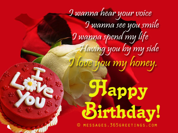 Birthday wishes for girlfriend 365greetings best birthday wishes for girlfriend m4hsunfo