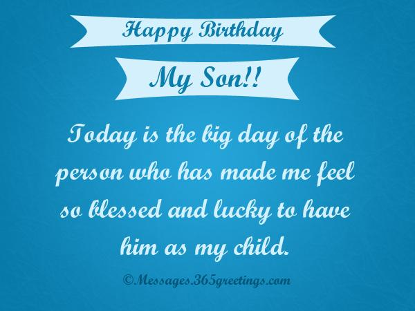 Happy Birthday Cards For Son