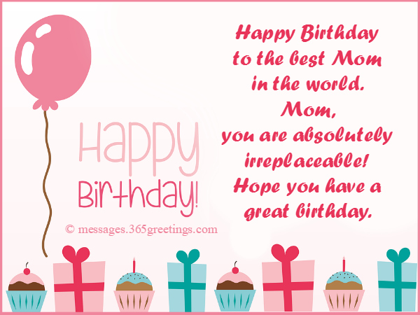 Birthday Wishes for Mother 365greetings – Happy Birthday Greetings for Mom