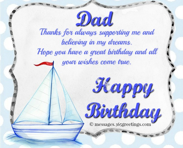 Birthday Wishes For Father Health ~ Happy birthday wishes for dad greetings