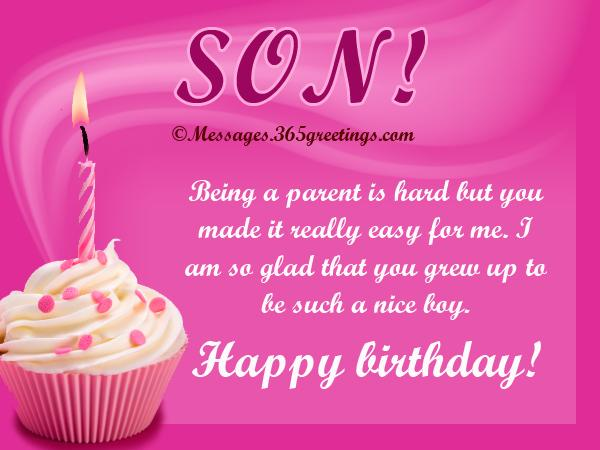 Birthday Wishes for Son 365greetings – Birthday Greeting for Son