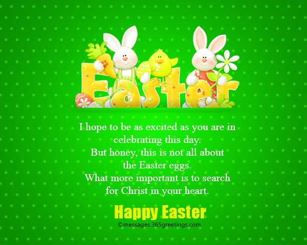 Happy easter wishes and messages 365greetings happiness and cheerfulness of easter sunday for those who are looking for specific bible verse about easter you might want to look into these choices m4hsunfo
