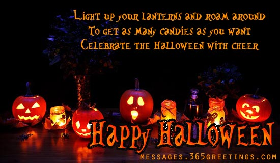 Beautiful Happy Halloween Greetings