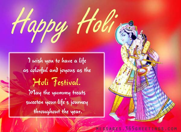 Holi wishes messages and greetings 365greetings happy holi wishes m4hsunfo