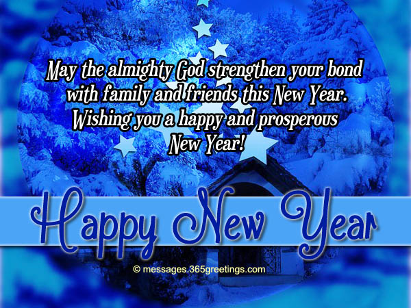 christian new year messages share the
