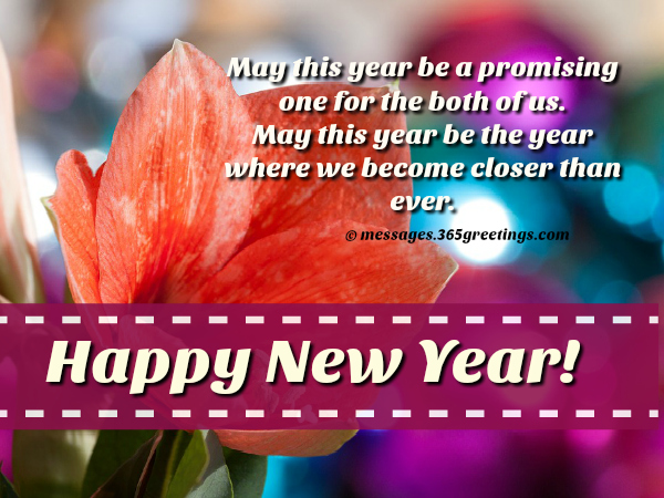 New Year Wishes For Girlfriend - 365greetings com