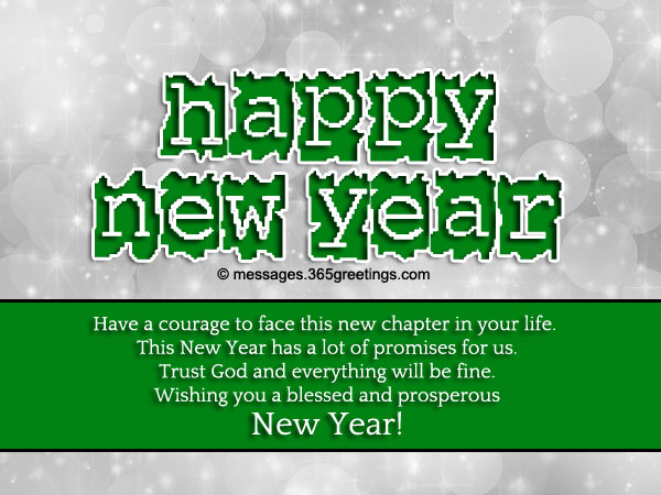 Christian New Year Messages - 365greetings.com