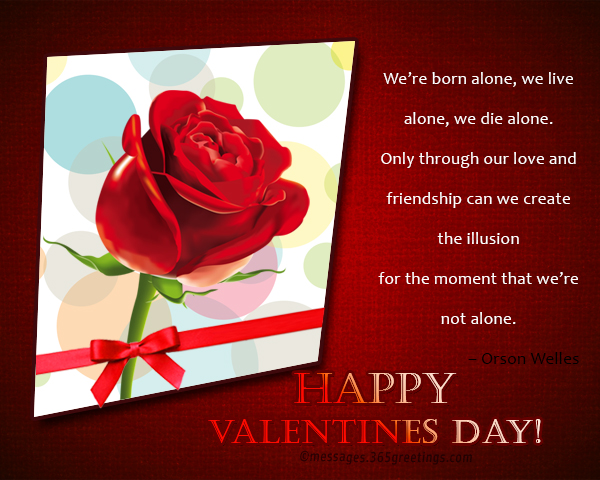 Happy valentines day sms to my love