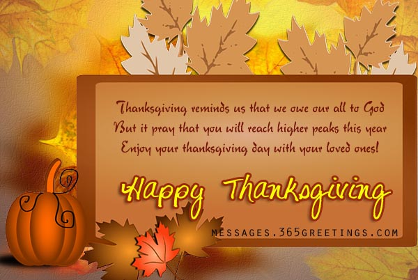 Thanksgiving messages greetings quotes and wishes 365greetings happy thanksgiving wishes m4hsunfo