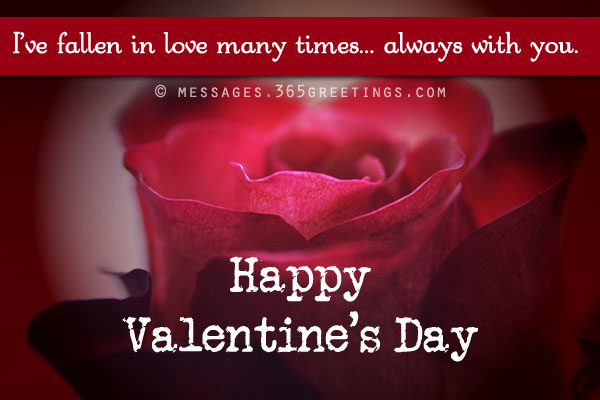 Valentines Day Quotes For Girlfriend Magnificent Valentines Day Messages For Girlfriend And Wife  365Greetings