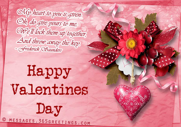 Valentines Day Quotes For Girlfriend Mesmerizing Valentines Day Messages For Girlfriend And Wife  365Greetings