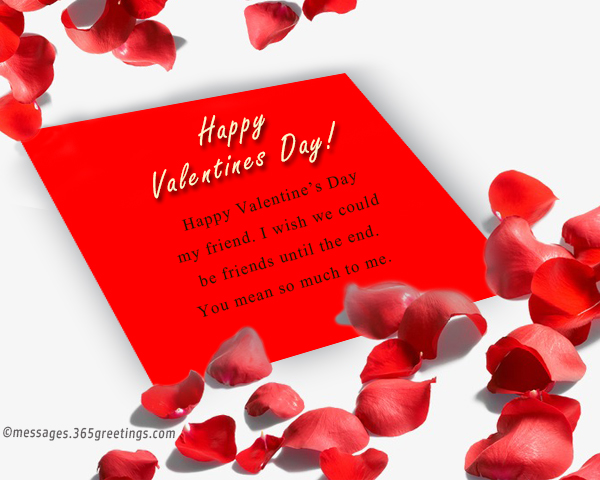 Valentines Day Messages For Friends 40greetings Fascinating Happy Valentines Day Quotes For A Friend