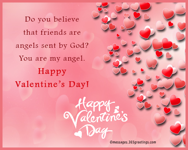 Valentines day messages for friends 365greetings i am floating in the air with so much happiness because of the love you give me i hope to be the person who deserves to be loved by you happy valentines m4hsunfo