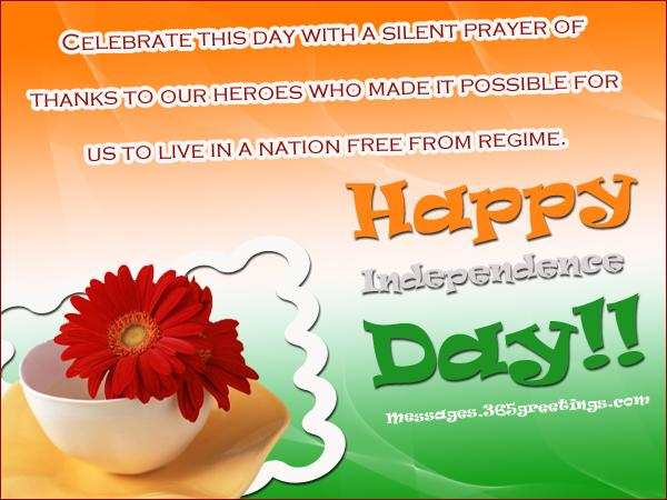 Independence day messages 365greetings independence day greetings m4hsunfo
