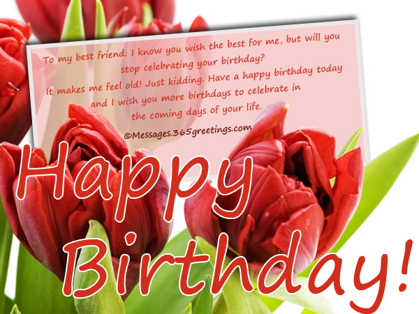 Inspirational Birthday Messages Messages Greetings and Wishes – Birthdays Greetings