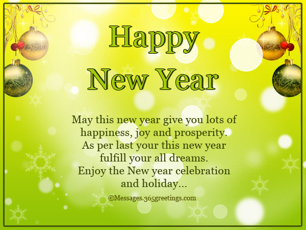 inspirational new year messages and greetings