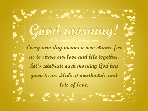 Romantic Good Morning Messages And Quotes 365greetingscom