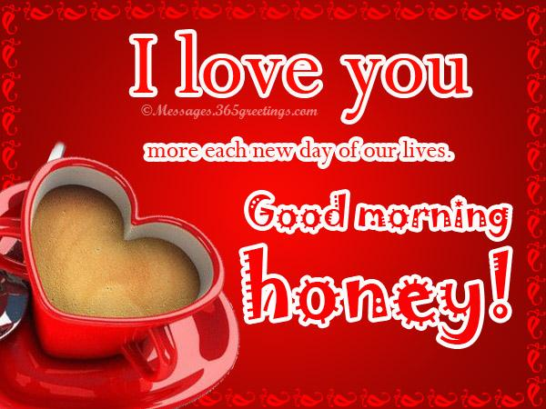 Good Morning Love Messages for Him