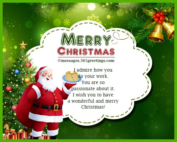 Merry Christmas Boss.Christmas Card Messages Wishes And Wordings 365greetings Com