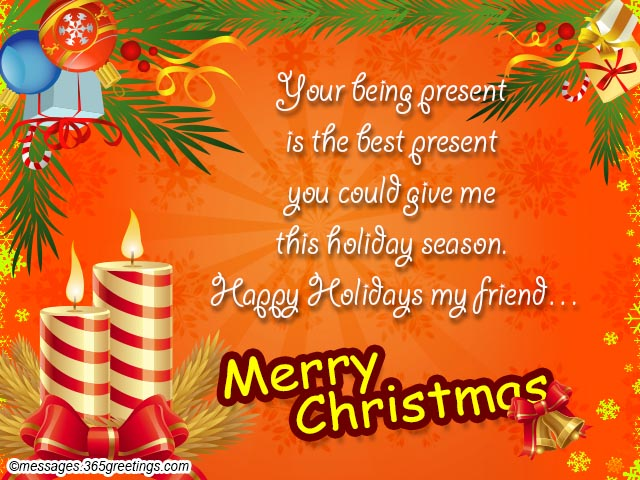 Christmas Wishes for Friends and Christmas Messages For Friends ...