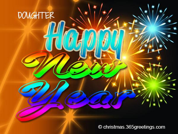 happy new year messages for your daughter