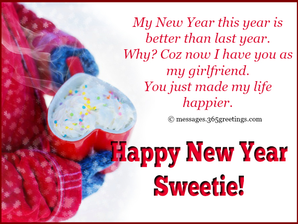 sweet new year messages for girlfriend
