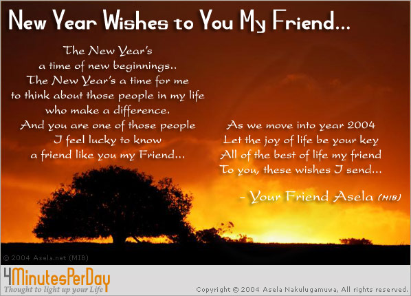 new year greetings message for friends i12