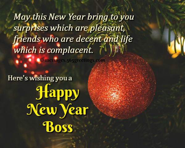 inspirational new year messages for boss