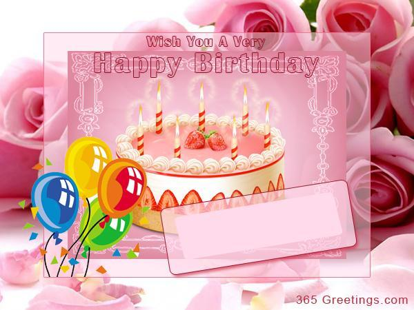 personalisedbirthdaycards 365greetings – Birthday Cards Personalised