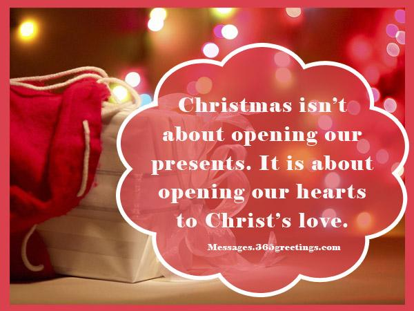 religious christmas card wordings