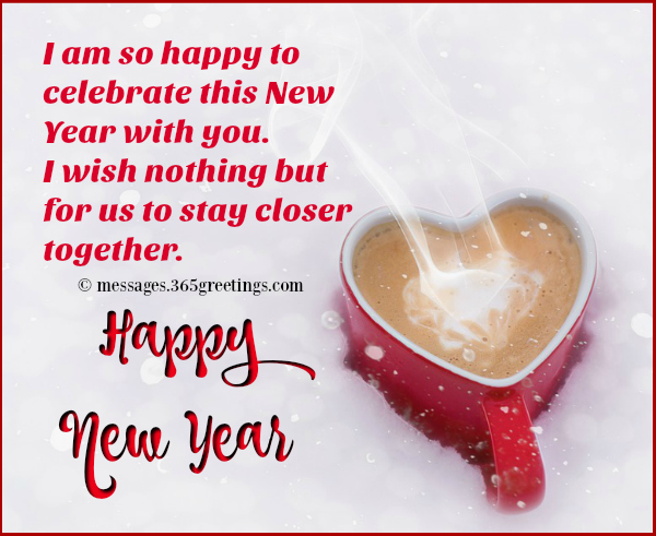 romantic new year greetings