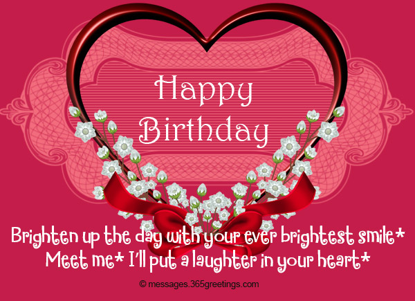 Sweet Birthday Messages 365greetings Com Happy Birthday Wishes To Sweet