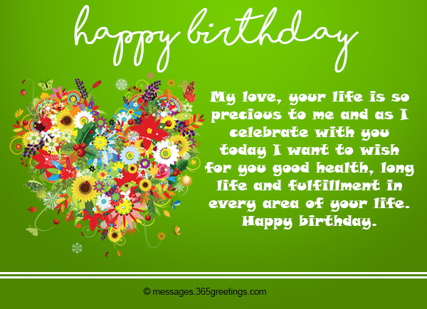 Birthday wishes for wife greetings