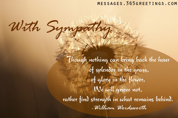 Sympathyquotes 60greetings Extraordinary Quotes About Sympathy