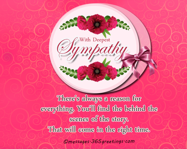 Sympathy Messages And Wishes - 365greetings.com