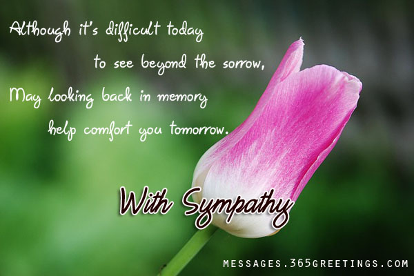 Sympathy Messages for Loss