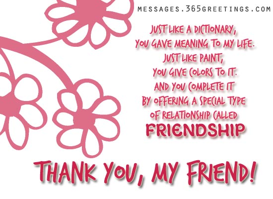 Thank You Messages  GreetingsCom