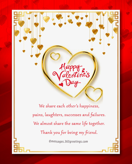 Valentines day messages for friends 365greetings valentines day messages for friends m4hsunfo