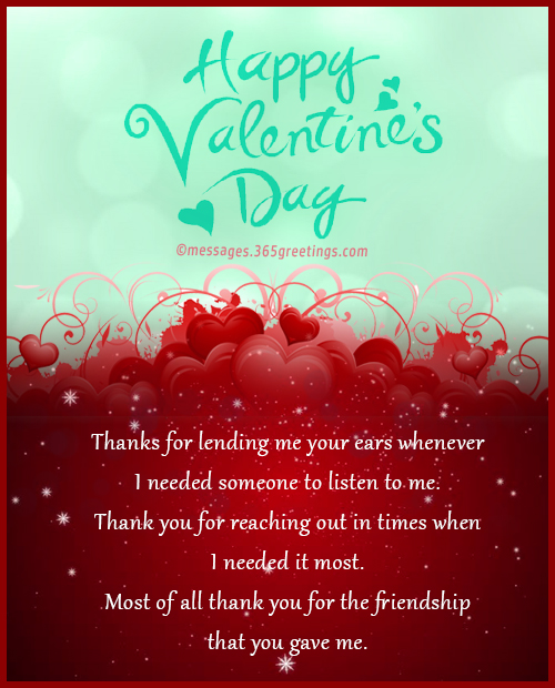 Valentines day messages for friends 365greetings happy valentines greetings for friends m4hsunfo Images
