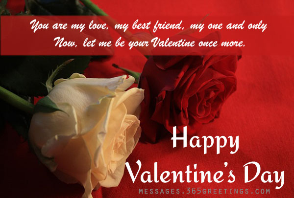 valentines day messages for girlfriend - Happy Valentines Day Wishes