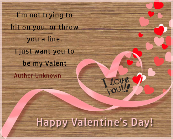 On This Valentines Day, May You Have A Great Time Celebrating It. With Your  Special Someone. Wish You All The Best In Your Relationship
