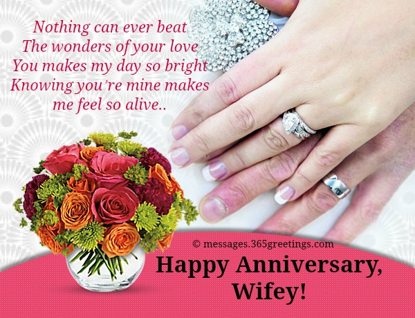 Anniversary messages for wife 365greetings wedding gift anniversary ideas for wife aside from a happy anniversary card m4hsunfo